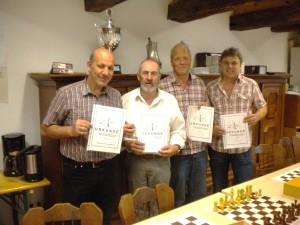 Siegerehrung VT 2014-15