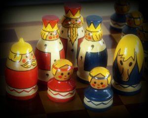 Vielleicht ist Schach der falsche Sport zum Abnehmen.....